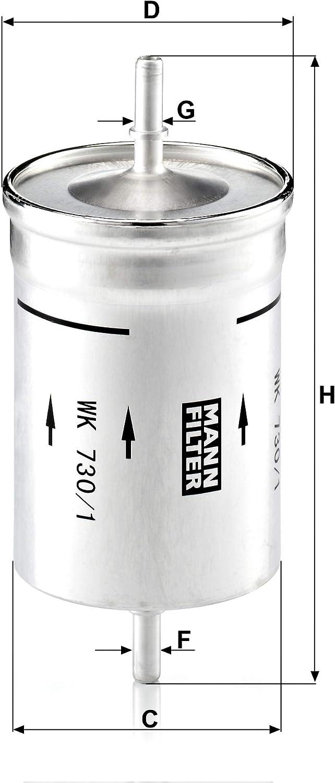 [DIAGRAM_3US]  Amazon.com: Mann-Filter WK 730/1 Fuel Filter: Automotive | 1 8t Fuel Filter Mann |  | Amazon.com
