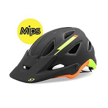 Giro montaro Mips All Mountain – Casco para bicicleta de montaña negro/verde/naranja