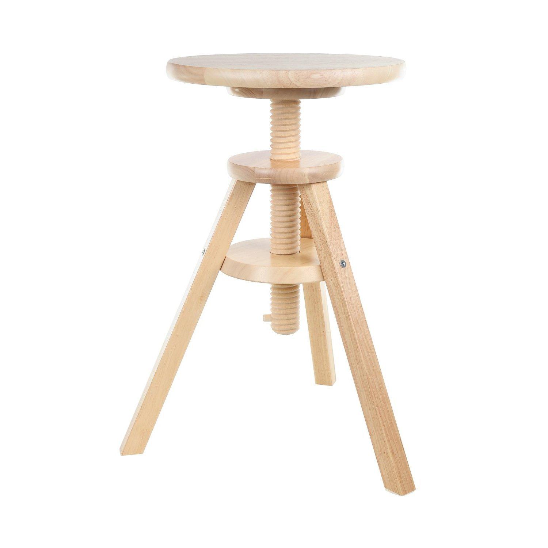 IKEA stool  Svenerik  piano stool - solid wood music stool - seat height 43-58 cm Amazon.co.uk Kitchen u0026 Home  sc 1 st  Amazon UK & IKEA stool