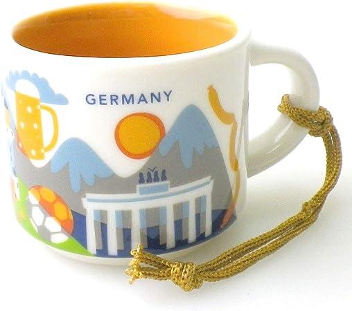 Starbucks Germany Demi Mug - Taza de café en Caja Original de Alemania: Amazon.es: Hogar