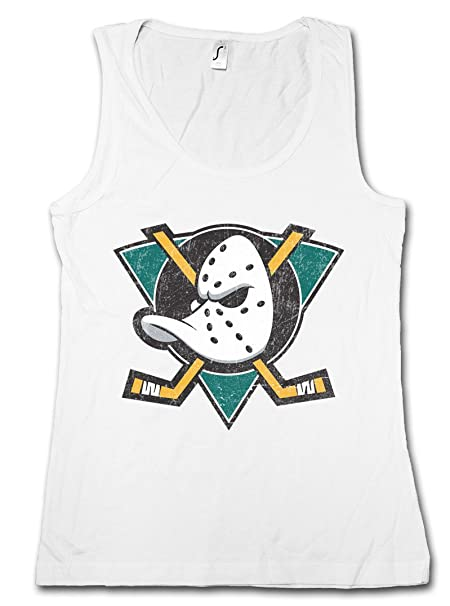 317757b20b9c2 Ducks Hockey Catalonia Mujer Camiseta Sin Mangas Women Tank Top Gym   Amazon.es  Ropa y accesorios