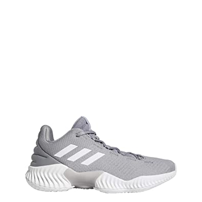cc0c2dc5799 adidas Pro Bounce 2018 Low Shoe - Men s Basketball 4.5 Light Onix White