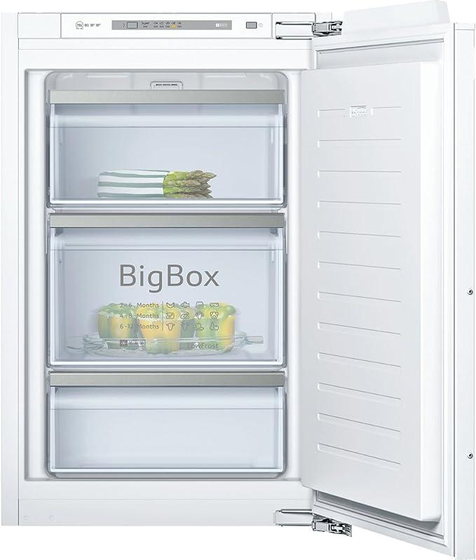 Neff G246A3 Integrado Vertical 95L A+++ Blanco - Congelador ...