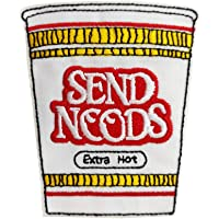 Send Nudes Meme Hat Pin Embroidered Iron on sew on Patch