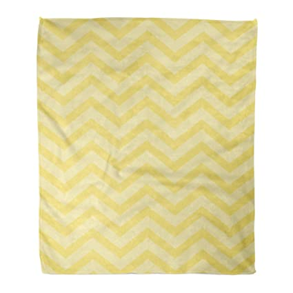 Pale Yellow Throw Blanket.Amazon Com Golee Throw Blanket Pale Yellow Chevron Zigzag