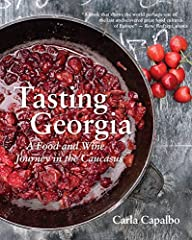 Winner of the prestigious André Simon Award explores Georgia's culinary traditions.       Nestled between the Caucasus Mountains and the Black Sea, and with a climate similar to the Mediterranean's, Georgia has colorful, delicious food...