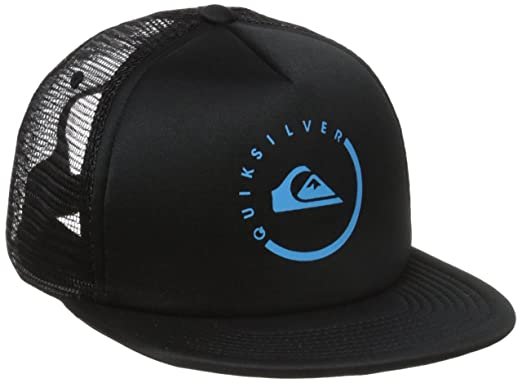 1dd13df4b5a28 Amazon.com  Quiksilver Mens Everyday Eclipse Hat Black One Size ...
