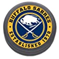NHL Buffalo Sabres Packaged Hockey Puck
