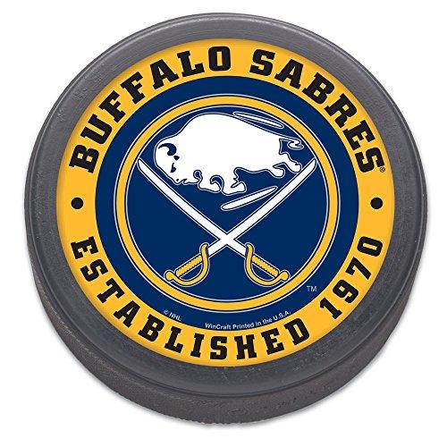 WinCraft NHL Buffalo Sabres Packaged Hockey (Nhl Team Hockey Pucks)