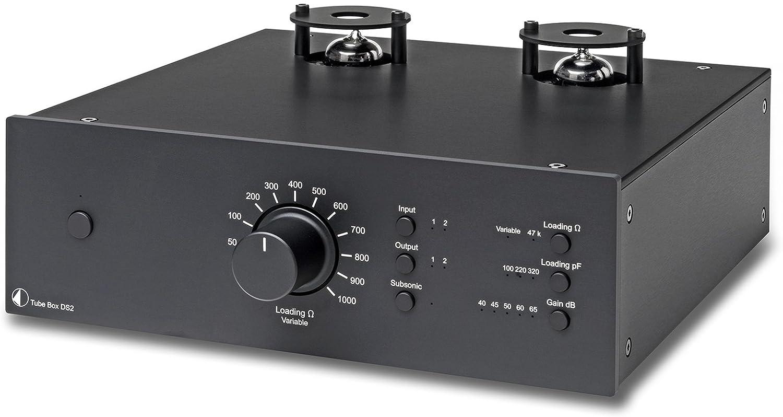 Pro-Ject préamplis RIAA Tubo Box DS2 negro: Amazon.es: Electrónica