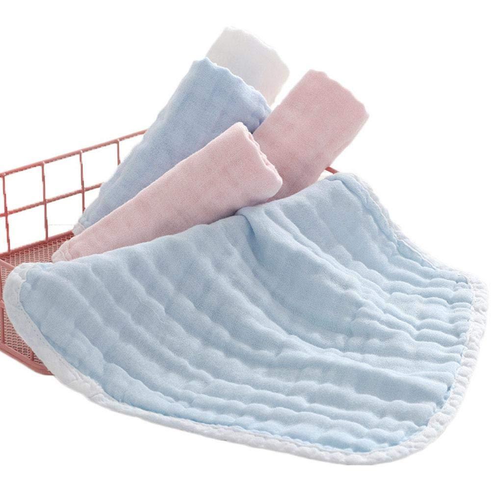 lavettes Ultra-Douces 100 Bio pour b/éb/é kit pour b/éb/&eacut Paquet de 3 d/ébarbouillettes pour b/éb/é Mouchoir en Peigne avec /écharpe carr/ée kit de Bain de Voyage Haut de Gamme pour b/éb/é