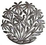 Cheap Decorative Metal Tree with Birds, Indoor or Outdoor garden decor, Handmade in Haiti 15″ X 15″