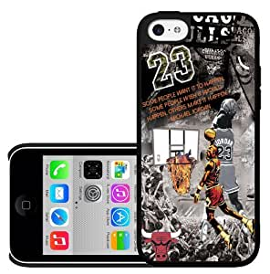 Basketball Legend #23 Collage Fan Art Hard Snap on Phone Case (iPhone 5c)