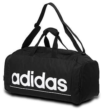 a03d70bcf1d Adidas Linear Medium Holdall - Black.  Amazon.co.uk  Sports   Outdoors