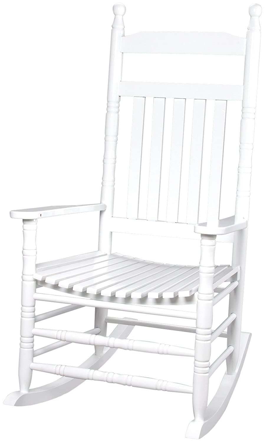 Gift Mark Deluxe Adult Rocking Extra Tall Back Chair, White 3500W