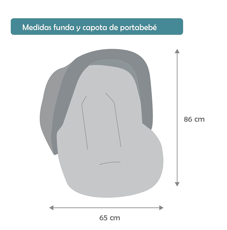 Funda Portabeb/é o Maxicosi Universal Capota de Regalo