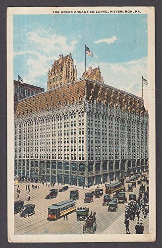 The Union Arcade Building Pittsburgh PA postcard 1919