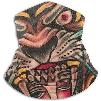 iuitt7rtree Impresión del Tatuaje Tigre Máscara de esquí Que Libera ...