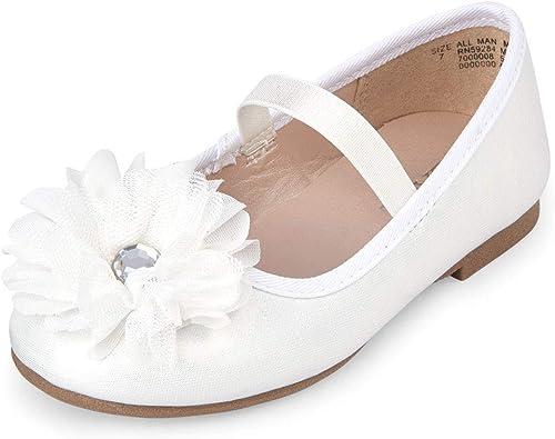 Girls' Flower Ballet Flat