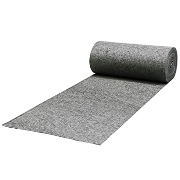 Rug Gray Disposable Non Woven Thickening 2MM Non Slip