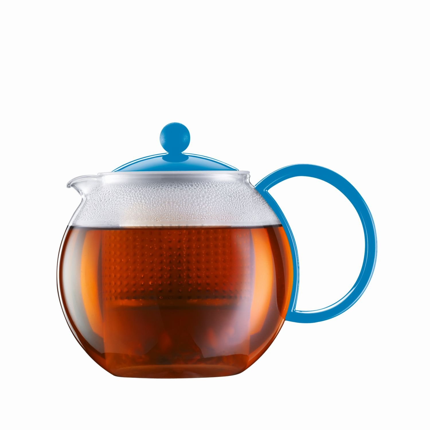 Bodum ASSAM Tea Maker (Plastic Strainer, Plastic Lid, 1.0 L/34 oz) - Off white 1.0 L/34 oz) - Off white 1844-913