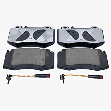 Front And Rear Brake Pad Complete Set Fits Mercedes Sprinter 2006-2011