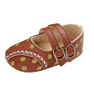 🎀 Zapatos de niña pequeña niña | Impresiones Lindas Zapatos Calzados Informales Suelas Blandas Anti Cómodo Diapositiva - Zapatos Princesa - Zapatos de ...