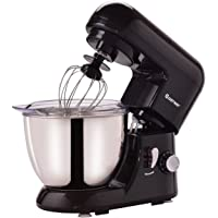 Costway Tilt-head Stand Mixer 4.3Qt 6-Speed 120V/550W Electric Food Mixer w/ Stainless Steel Bowl