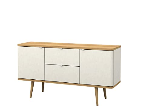 Loft24 Designer Sideboard weiß Kommode Schrank Wohnzimmer ...