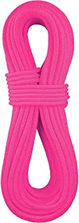 product image for BlueWater Ropes 9.7mm Lightning Pro Standard Dynamic Single Rope (Solid Neon Pink, 70M)