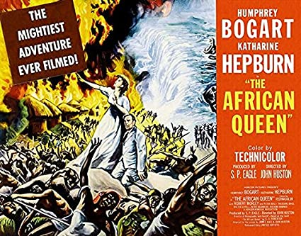 Image result for the african queen 1951 poster