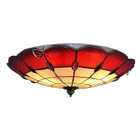 Hermosa y noble lámpara de techo pintada, lámparas ...