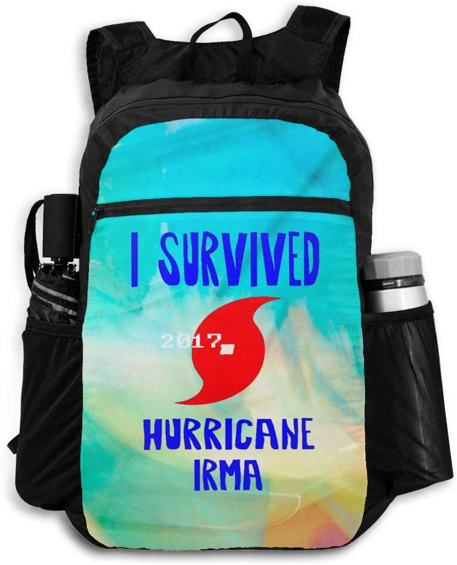 I Survived Hurricane Irma Travel Bagtravel Bags Folding Bags Backpacks Backpacks