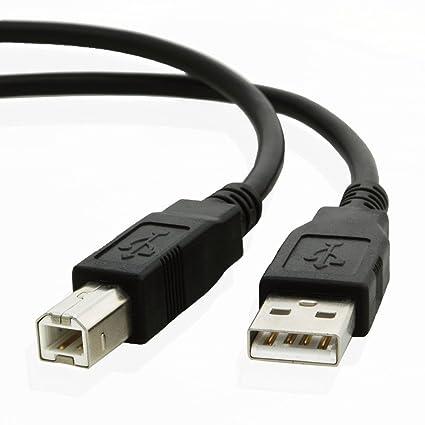 Amazon.com: USB Printer Cable 6ft, NEORTX 1.8 Meters USB 2.0 Printer ...