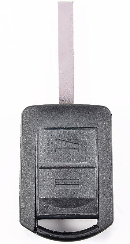 Surepromise One Stop Solution For Sourcing 2 Tasten Ersatz Autoschlüssel Schlüsselgehäuse Mit Rohlingtyp Hu100 Gehäuse Ohne Transponder Oder Elektronik Auto