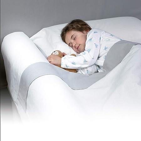 Kinderbettgitter,Bett-Schiene f/ür Kinder Bettgitter Tragbare Faltbare Kinderbettgitter 150 cm wei/ß