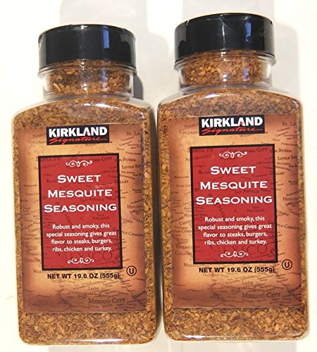 - Kirkland Signature Sweet Mesquite Seasoning 19.6 Ounce (Pack of 2)