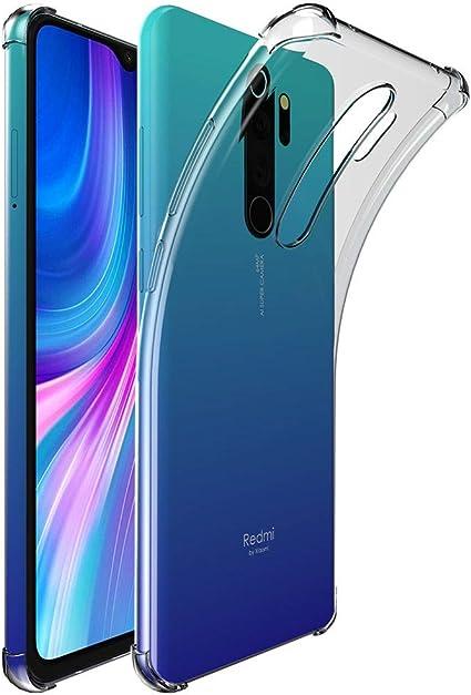 Cover Xiaomi Mi Note 10 Protezione Silicone Morbido Antishock Trasparente