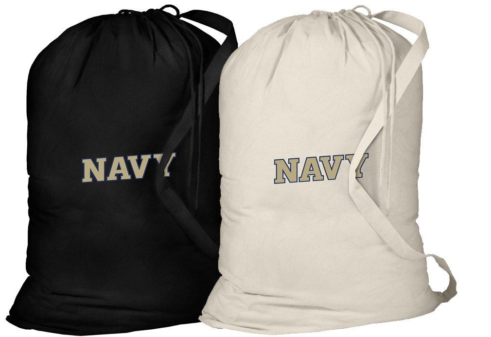 Broad Bay Naval Academyランドリーバッグ- 2 PC set- USNA海軍服バッグ B07CWXMN1G