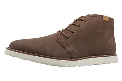 Herren Boots - Vector - Braun Schuhe in Übergrößen, Größe:47 Boras