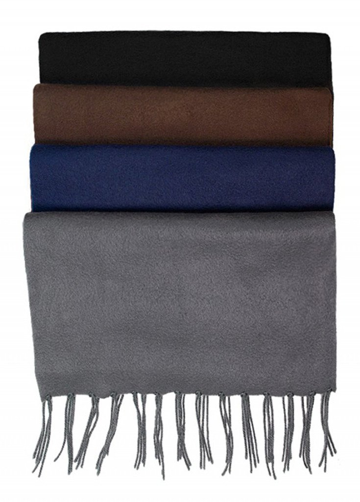 Power Club Men's Cold Weather Mufflers - Solid