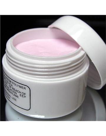 Energía® de color rosa del arte del clavo puntas de las orejas de cristal en