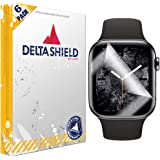 DeltaShield Screen Protector for Apple Watch Series 4 (40mm)(6-Pack)(Maximum Coverage) BodyArmor Anti-Bubble Military-Grade C