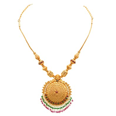 Buy joyalukkas 22k gold necklace online at low prices in india joyalukkas 22k gold necklace aloadofball Choice Image