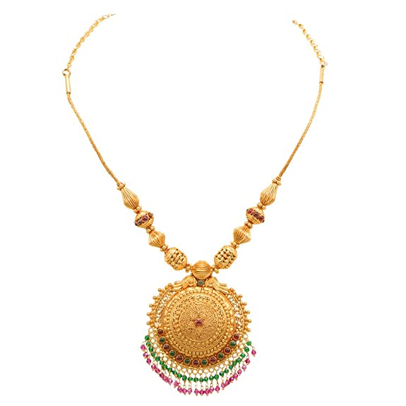 necklace gold sets for collections necklaces jewellery temple buy elegant women neckace set plated online sukkhi