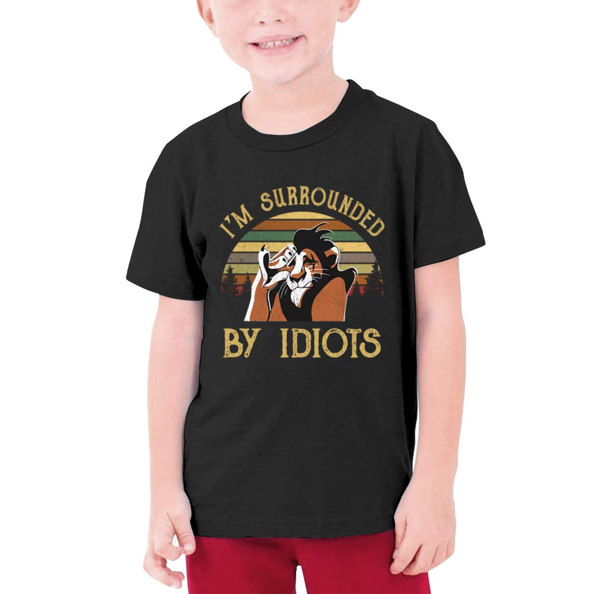 Negi Im Surrounded by Idiots Boys Short-Sleeve Shirt
