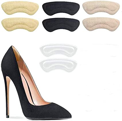 Heel Cushion Pads Reusable Self-Adhesive Shoe Inserts Protector Grips Liners