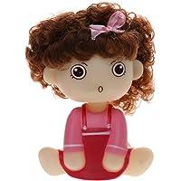 Generic Cute Car Interior Shaking Head Doll Girl Auto Accessories Car Ornament Kids Toy
