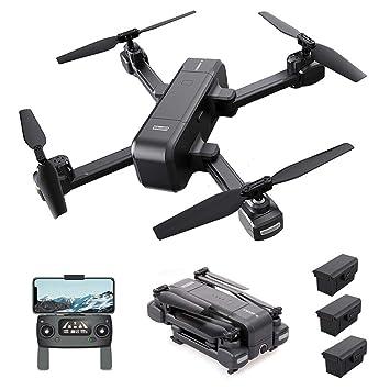 Goolsky MJX RC Selfie Drone X103W GPS con Cámara 720P 2K 5G WiFi ...