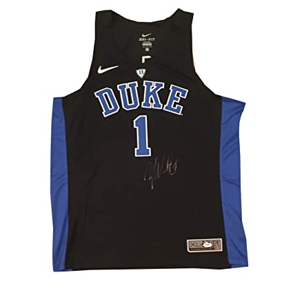 c1d1110ff9e Image Unavailable. Image not available for. Color: Zion Williamson  Autographed Duke Blue Devils Signed Nike Basketball Jersey ...
